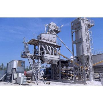Planta mezcladora de asfalto estacionaria de 120 t / h con contenedor integrado