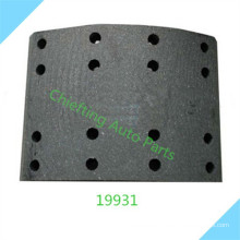 replacement part 19931 551137 for Scania winch brake lining