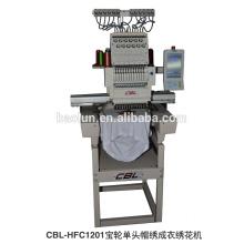 Máquina de bordar computerizada de una sola cabeza