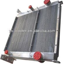 Гидравлический масляный радиатор для алюминиевых пластин для компрессора