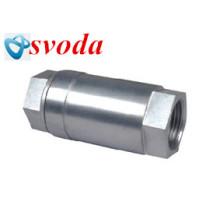 venta terex válvula de retención de aire de rosca de acero inoxidable