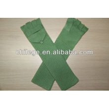 Mitaines tricotées Cachemire Mitaines gants avec rabat