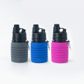20Oz silicone Collapsible Water Bottle  sports bottle