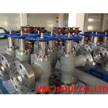 Válvula de estrangulamento ajustável para fluido de poço