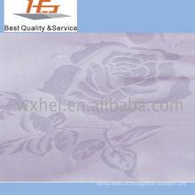 Tela branca por atacado da listra da venda direta da fábrica para a matéria têxtil home