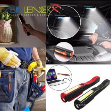 Cordless 1LED + 3W COB Penlight de inspeção recarregável