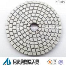 """3"""" profesional seco diamante pulido almohadillas generación 2"""
