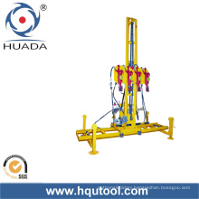 Four-Hammer Rock Driller for Stone, Vertical Drilling (Heavy Type)