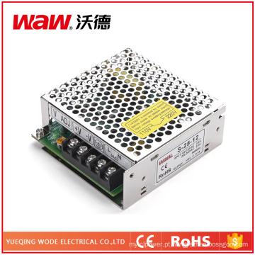 Fonte de alimentação do interruptor de 25W 5V 5A com proteção do curto-circuito