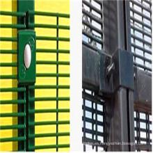 PVC recubierto 358 paneles de valla antideslizante de alta seguridad