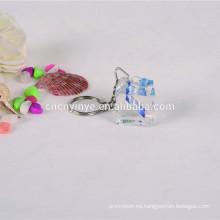 Nuevo diseño personalizado llavero acrílico en blanco