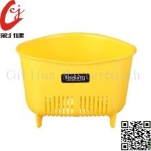 Yellow Plastic Masterbatch Granules