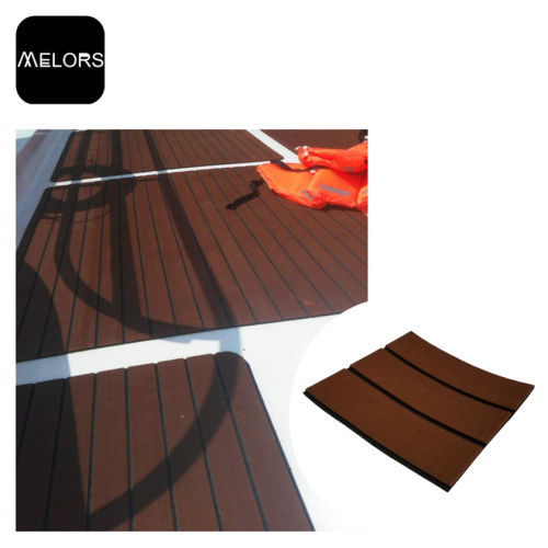 Dark Brown & Black Marine EVA Baction Traction Mat