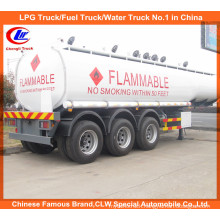 BPW Axles 7 Compartments 30000 Liters Tri-Axle Oil Tank Trailer