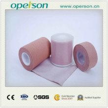 Suave y cómodo vendaje adhesivo elástico