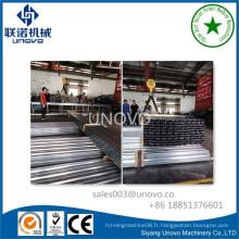 Profil en acier galvanisé en métal à l'acier / piste en acier