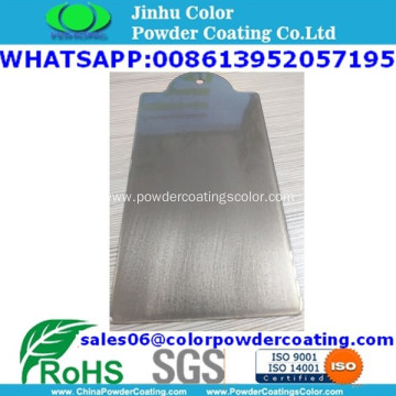 electrostatic spray transparent clear top powder coating