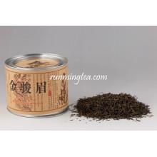 Mingqian Jin Jun Mei ( Golden Eyebrow ) Black Tea In Tins
