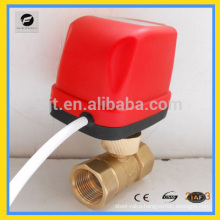 CWX-50K flow coil heater electric ball valve for heating system
