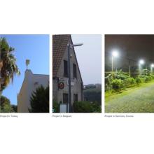 Instalação profissional de Guangzhou Fábrica de luz de rua solar de fácil instalação