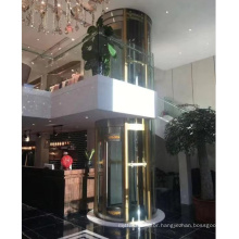 Price In China Villa Round Glass Elevator Price, China Factory Villa Used Home Round Elevator Glass