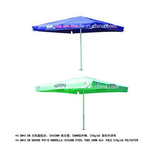 3.5X3.5m Aluminium Pole Werbung Strand oder Sonnenschirm (YSBEA0030)