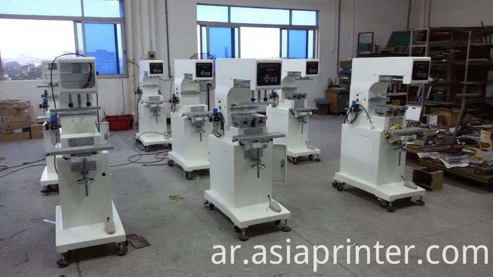 laser light shuttle pad printing machine