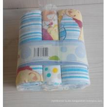Pañal 100% de impresión de bebé de algodón (BC-BD1003)