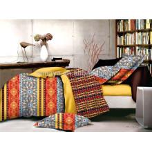 Novo! 100% poliéster cama lençol conjunto 70gsm, 80gsm, 90gsm, 100gsm 130gsm