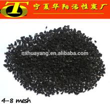 Substrato de filtro de purificação de água por carvão ativado por coco