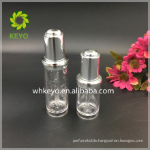 30ml 50ml Hot sale high quality make up packing colored empty cosmetic plastic dropper bottle