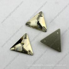 Hot Оптовая продажа плоской задней треугольник шить на бусины для одежды аксессуары