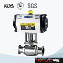 Stainless Steel High Purity Pneumatic Two Way Ball Valve (JN-BLV1006)