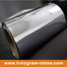Hologram Two Color Tamper Evident Aluminum Foil