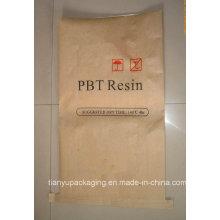 Sac en papier Kraft à fond moulu humide pour résine PBT