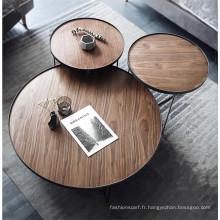 Ensemble de table basse moderne