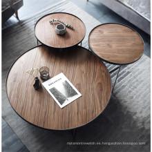 Juego de mesa de centro moderno