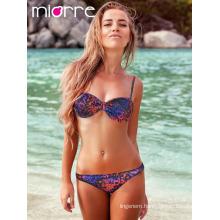 Miorre Women Swimwear Bikini Leopard Patterned