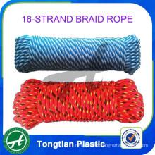 Ficelle à tresse creuse en corde plastique
