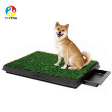2015 novo pet venda quente com grama artificial pet potty e pet park