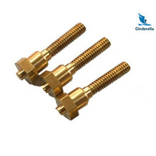 CNC Processing Fasteners Brass Bolt Screw Nut