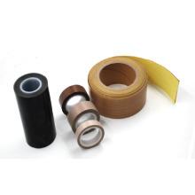 Cinta adhesiva de fibra de vidrio de PTFE de tamaño personalizado en rollos