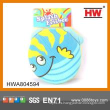 Funny Kids playa de juguete Tejido de tela Frisbee juguete tejido de frisbee