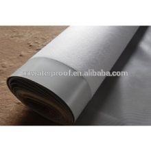 Membrane imperméable à l'eau Type membrure imperméable synthétique pour toitures