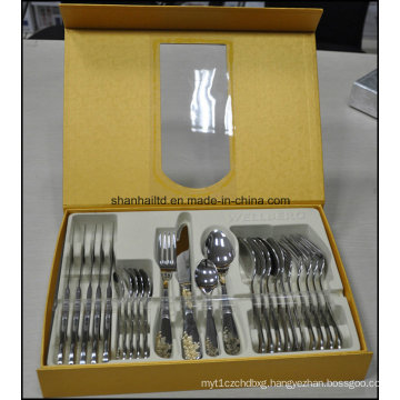 Stainless Steel 24PCS Cutlery Set