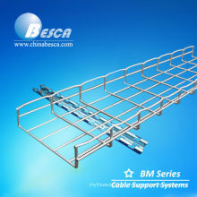Galvanised Wire Mesh type Cable Tray with ceiling hanger (UL,cUL,CE,NEMA,IEC)