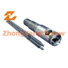 38crmoala Base Material Twin Parallel Screw and Barrel