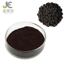 Factory supply black rice extract 25% anthocyanin powder