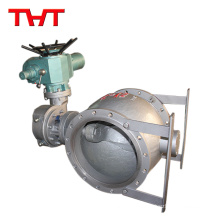 Eccentric semi solenoid ball valve of 200mm trunnion