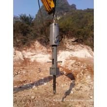 Excavator Hydraulic Rock Splitter para canteras